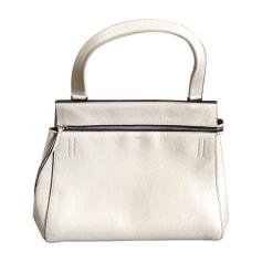 Leather Handbag CÉLINE Gray, charcoal