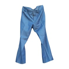 Pantalon évasé HUGO BOSS Bleu, bleu marine, bleu turquoise