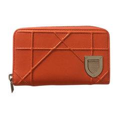 Wallet DIOR Orange