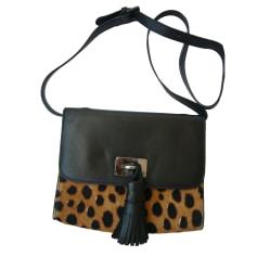 Leather Handbag TARA JARMON Black