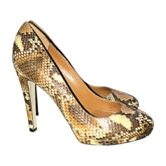 Pumps, Heels SERGIO ROSSI Animal prints