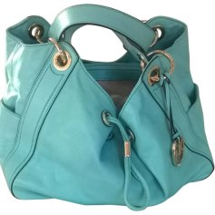 Leather Handbag MICHAEL KORS Blue, navy, turquoise