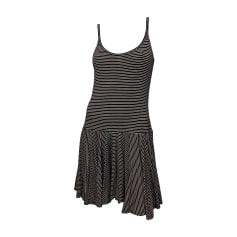 Mini Dress RALPH LAUREN Noir/blanc