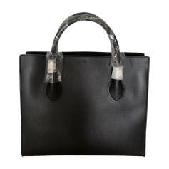 Leather Handbag CÉLINE Black