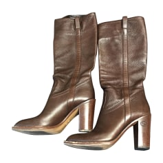 High Heel Boots GUCCI Brown