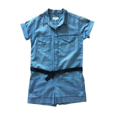 Playsuit ISABEL MARANT Blue, navy, turquoise