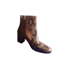 Bottines & low boots à talons ZADIG & VOLTAIRE Imprimés animaliers