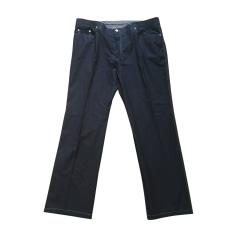 Pantalon droit BRIONI Bleu, bleu marine, bleu turquoise