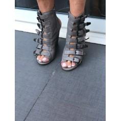 Bottines & low boots à compensés TOPSHOP Gris, anthracite