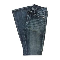 Jeans svasato, boot-cut VICTORIA BECKHAM Blu, blu navy, turchese