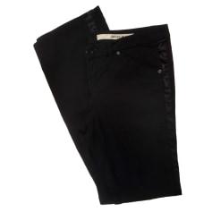 Pantalone dritto DKNY Nero
