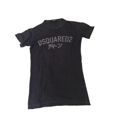 T-shirt DSQUARED2 Blue, navy, turquoise