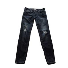 Skinny Jeans LE TEMPS DES CERISES Bleu fonce