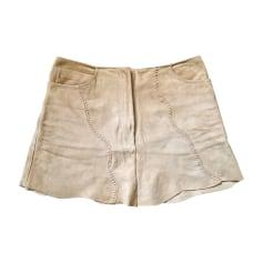 Mini Skirt BLUMARINE Beige, camel