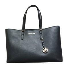 Leather Oversize Bag MICHAEL KORS Black