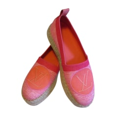 Loafers LOUIS VUITTON Corail rose