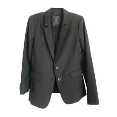 Blazer IKKS Gray, charcoal