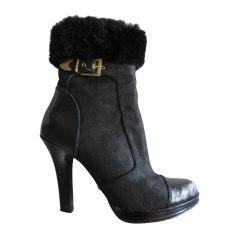 Bottines & low boots à compensés GUESS Noir