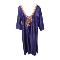 Robe mi-longue SONIA RYKIEL Violet, mauve, lavande
