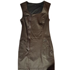 Mini Dress IKKS Brown