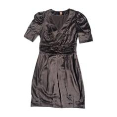 Mini Dress HUGO BOSS Gray, charcoal