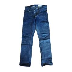 Jeans droit GUSTIN Bleu, bleu marine, bleu turquoise