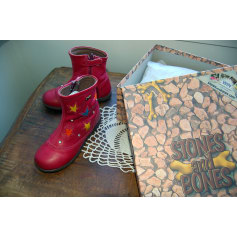 Ankle Boots STONES AND BONES Red, burgundy