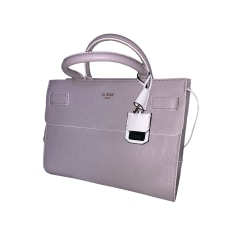 Leather Handbag GUESS Purple, mauve, lavender