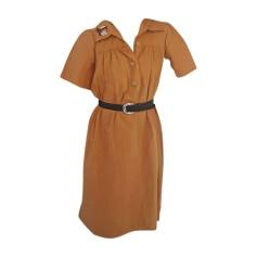 Robe mi-longue LANVIN Orange
