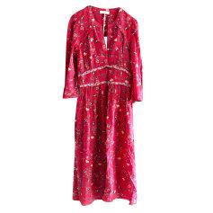 Robe longue BA&SH Rouge, bordeaux