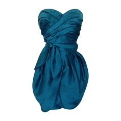 Robe bustier MARC BY MARC JACOBS Bleu, bleu marine, bleu turquoise