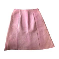 Midi Skirt MIU MIU Pink, fuchsia, light pink