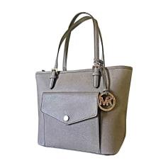 Leather Handbag MICHAEL KORS Beige, camel