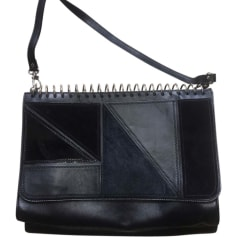 Leather Shoulder Bag JEAN PAUL GAULTIER Black