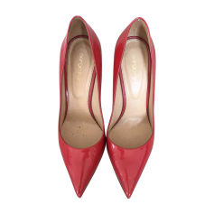 Pumps, Heels SERGIO ROSSI Red, burgundy