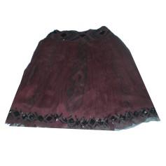 Maxi Skirt ARMAND VENTILO Red, burgundy