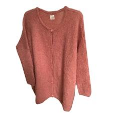 Vest, Cardigan DES PETITS HAUTS Pink, fuchsia, light pink