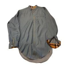 Camicia BURBERRY Blu, blu navy, turchese