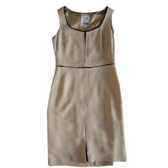 Midi-Kleid MOSCHINO CHEAP AND CHIC Beige