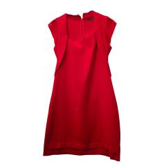 Midi-Kleid THE KOOPLES Rot, bordeauxrot