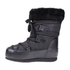 Bottes de neige CHANEL Noir