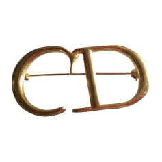 Brooch DIOR Golden, bronze, copper