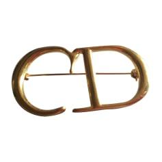Anstecknadel DIOR Gold, Bronze, Kupfer