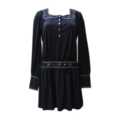 Robe mi-longue ANNA SUI Noir