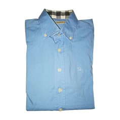 Shirt BURBERRY Blue, navy, turquoise