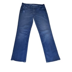 Straight Leg Jeans 7 FOR ALL MANKIND Blue, navy, turquoise