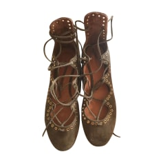 Ballerines ISABEL MARANT Leo Marron