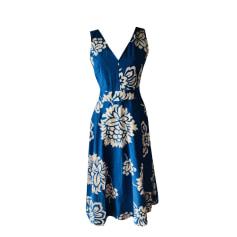 Midi-Kleid GERARD DAREL Blau, marineblau, türkisblau