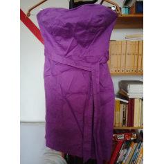 8050b4290bd Robes H M Femme Violet