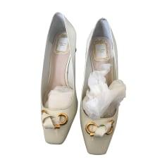 Pumps, Heels DIOR White, off-white, ecru